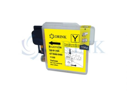 Cartus inkjet Brother LC 1100 yellow compatibil