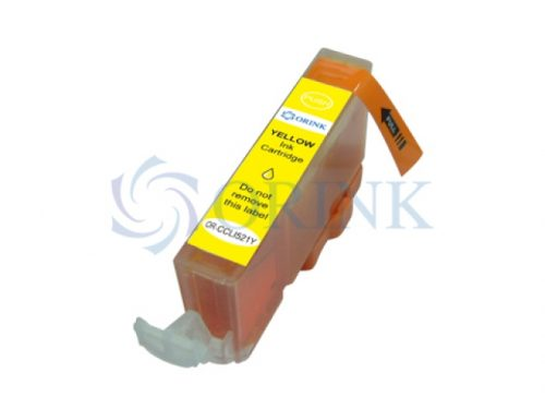 Cartus inkjet Canon CLI-521 yellow compatibil Canon iP3600