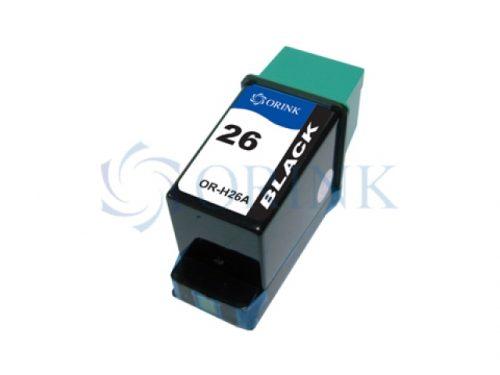Cartus inkjet HP 26 black compatibil 51626A